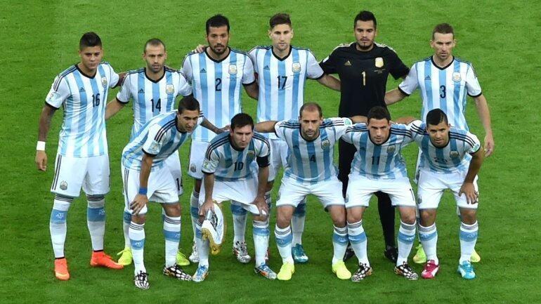 EQUIPO ARGENTINA - BOSNIA 15.06.14