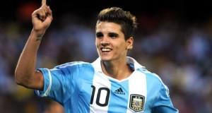LAMELA. El jugador del Tottenham no estuvo en el Mundial, pero siempre es una gran posibilidad para la Selección.